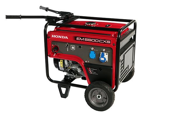 Honda m power gruppi elettrogeni euromecc generators for Generatore honda usato